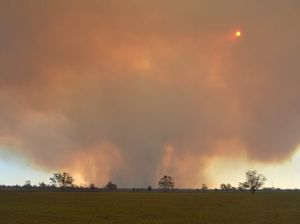 Fires continue to burn across the region