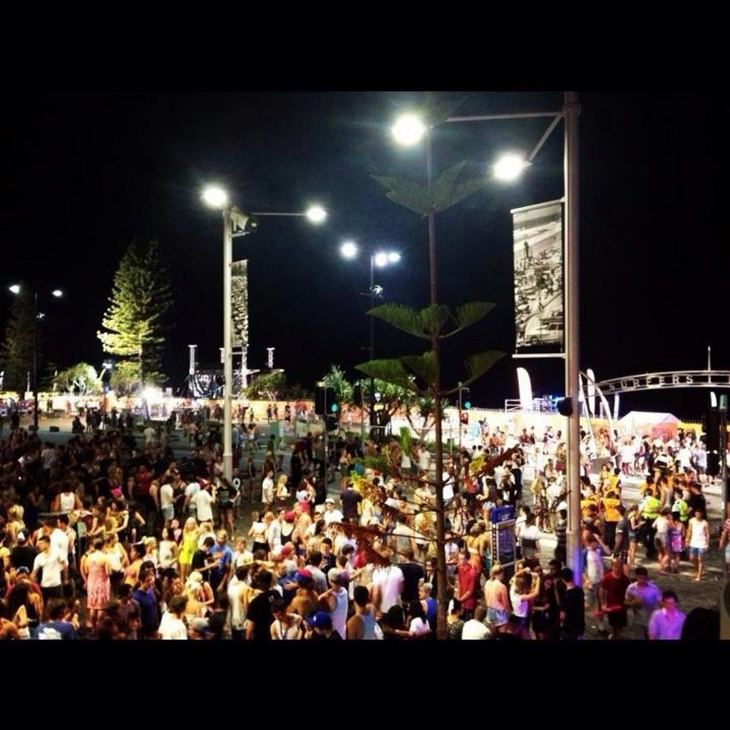 CLASS OF 2012: Schoolies celebrations at Surfers Paradise.
