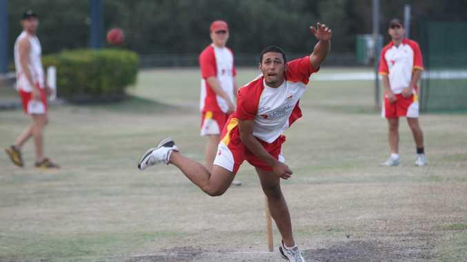 Scorchers debutant Joash Mathys is handy with the bat and ball. Photo: Brett Wortman / Sunshine Coast Daily