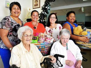 Aged home gives back