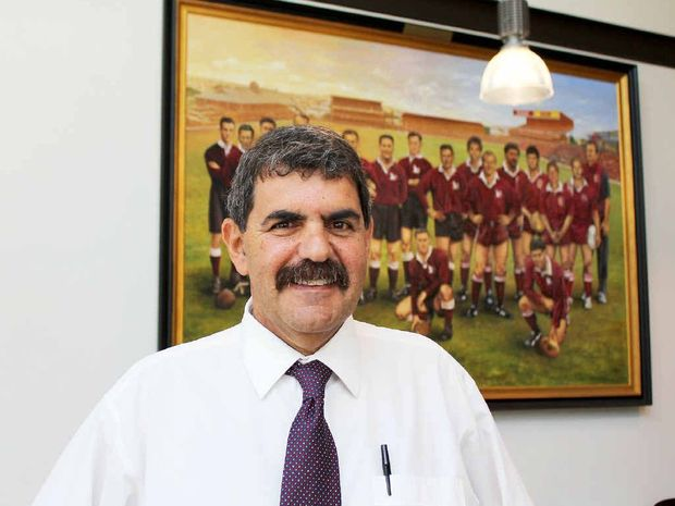 TOP JOB: Long-serving Ipswich referee and administrator Peter Betros will guide the Queensland Rugby League.