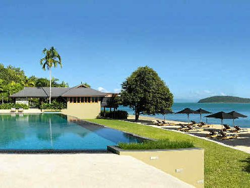 Hamilton Island's multi-award-winning qualia resort has notched up two more honours. The Pebble Beach pool and casual dining area is just one area to enjoy in the luxury complex.