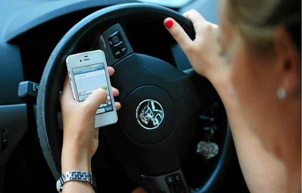 Don't be tempted, put your phone away while driving.