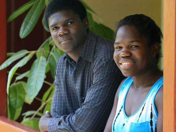 Twins Edward and Edwina Quoibia are ready for life after a car crash in 2010.