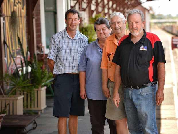 Volunteers Peter Alder, Kevin Power, Marite Brieze-Stegeman and Jim Walker.