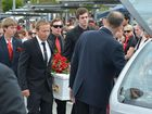 Community joins guard of honour to farewell our Daniel