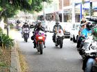 HOG CHRISTMAS: Last year about 350 riders joined the Salvos' Toy Run.