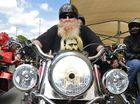 Close to 800 bikers armed with teddies, footballs and dolls