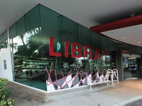 The Bundaberg Regional Library. Photo: Mike Knott/NewsMail