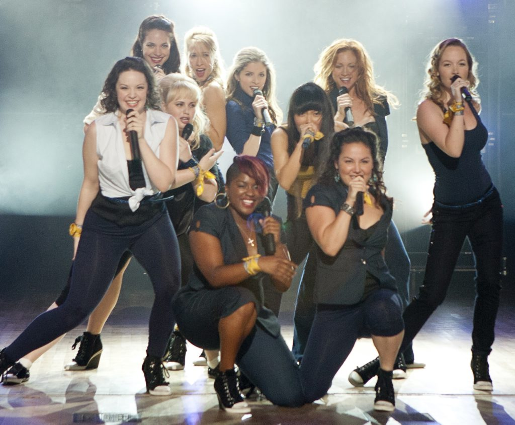 A scene from the movie Pitch Perfect.