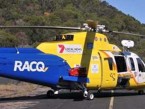 Midnight helicopter rescue at the narrows
