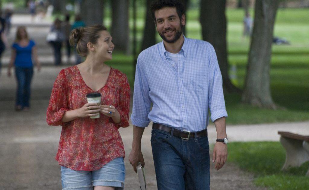 Elizabeth Olsen, left, and Josh Radnor in a scene from the movie Liberal Arts.