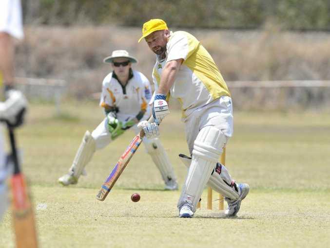 The Glen Batsman Sandy Harrison.