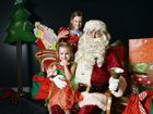 Jacinta, 6, and Josephine Sell, 3, met Father Christmas at the Railway Workshops Museum on Sunday, December 9.