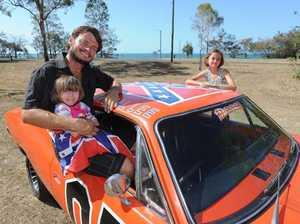 Car transformed into TV classic, including distinctive horn