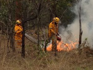 Coast's fire danger rating raised to high by rural firies