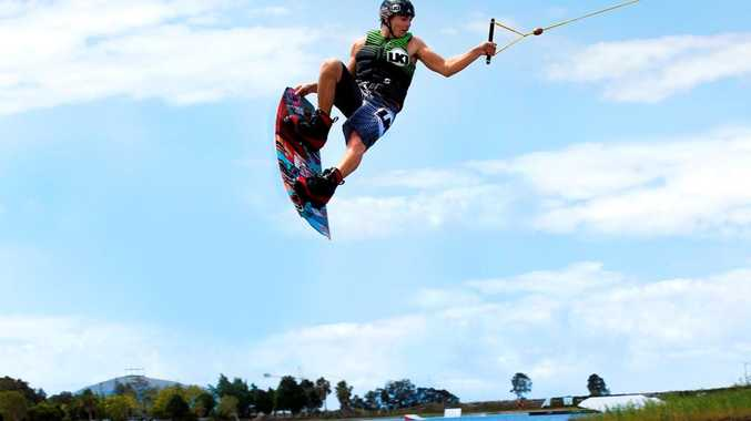 Sunshine Coast wakeboarder James Windsor has stunned the sporting world by snaring two titles.