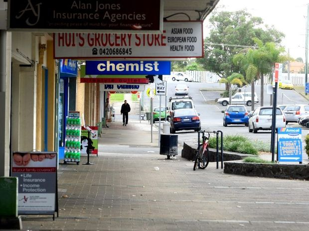 Signs are common place around the Tweed, such as in Bay St, Tweed Heads.