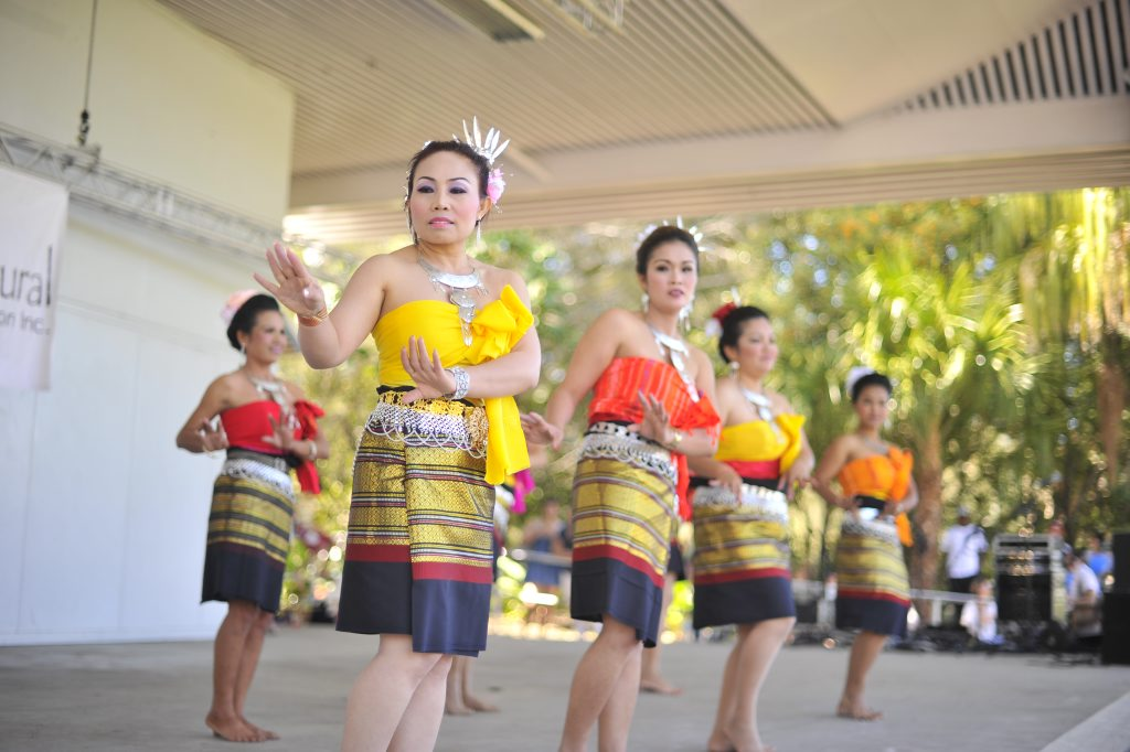 The 2012 Multicultural Festival at the Marina Stage. Thai Community Dancers. Photo Christopher Chan / The Observer