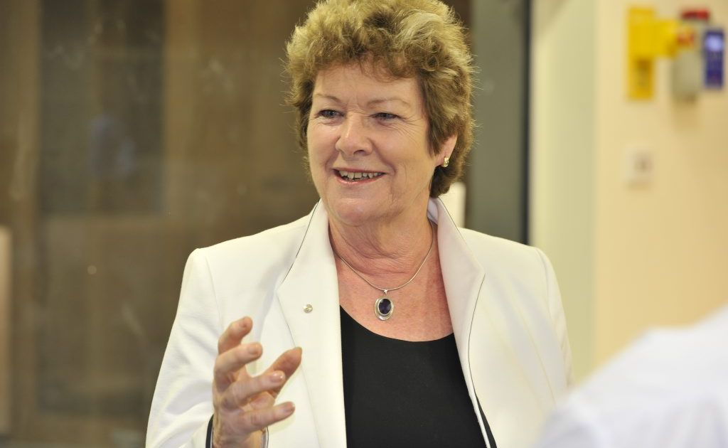 NSW Health Minister Jillian Skinner pictured during a visit to Lismore Base Hospital