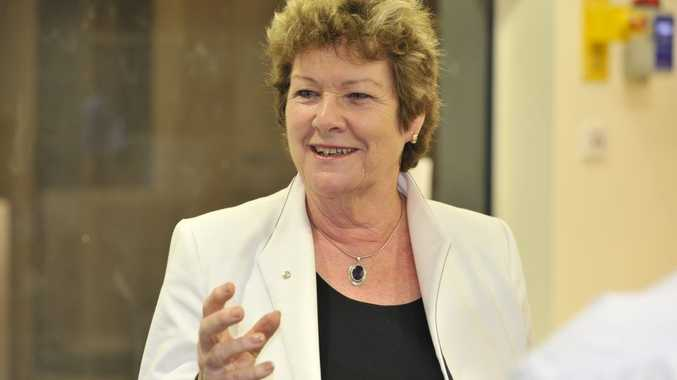 NSW Health Minister Jillian Skinner pictured during a visit to Lismore Base Hospital in September, 2012.