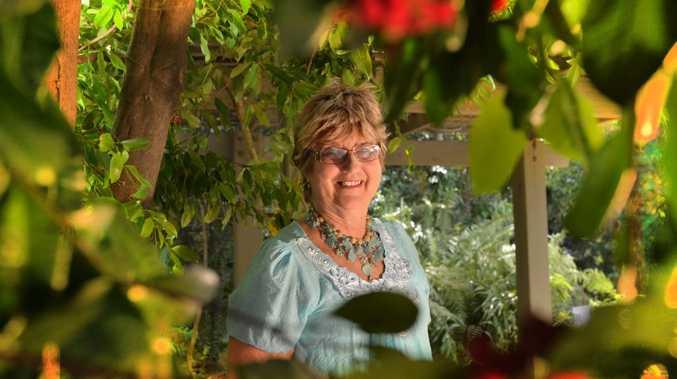 President of Buderim Garden Club Patricia Moses at the Adna Walling Memorial Park. Photo: John McCutcheon / Sunshine Coast Daily.