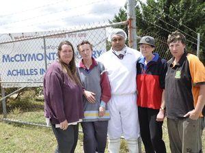 Abattoir workers devastated by sudden sacking