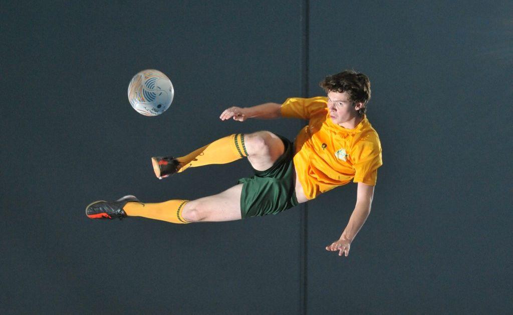 Australian futsal player Sam Ballschmieter.
