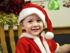 "Oliver Stebbings at the Cobb + Co Museum holiday activity program ""Santa's Workshop"" . Photo: Bev Lacey / The Chronicle"