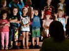 Tiny tots take to the stage for Christmas at Bilambil