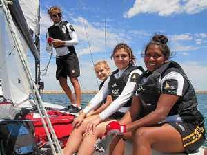 Sailors on board