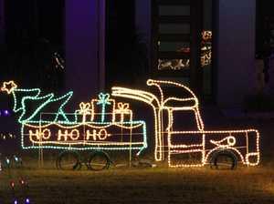 Central Highlands community sparkles with light displays