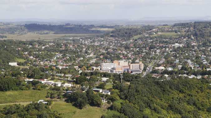 Aerial of Lismore. Photo Jay Cronan / The Northern Star