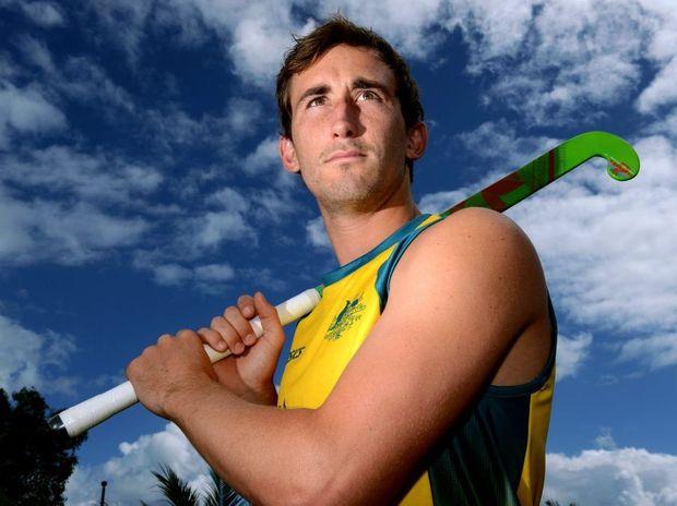 Jason Wilson is a Aussie hockey player. Photo: John Gass / Daily News