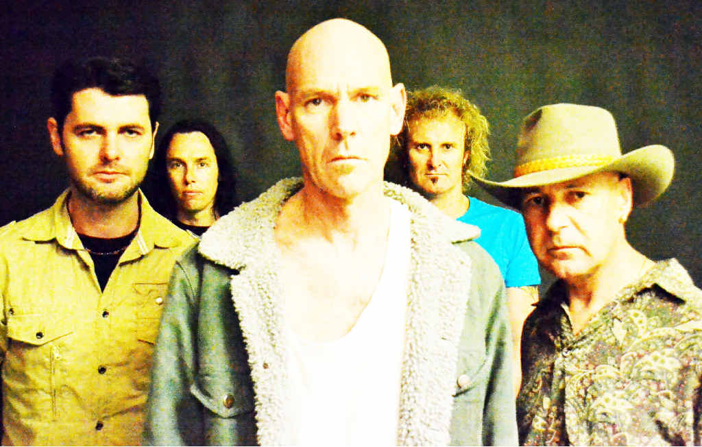 PAYING TRIBUTE: Tribute band Head Injuries rekindles the classic sounds of Midnight Oil.
