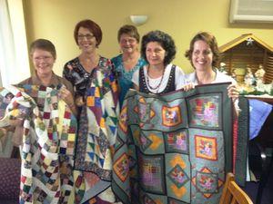 Quilts bring comfort