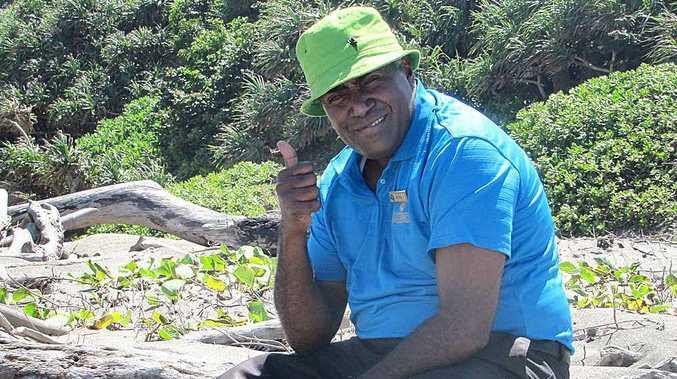 Former Fiji rugby international Kini Sarai.