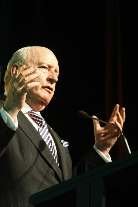 Shock-jock Alan Jones is continuing his public attack on the Wagner family.