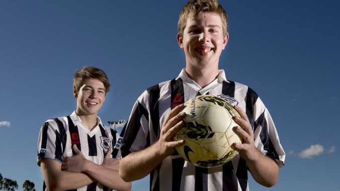 Willowburn Colts players Ben Paterson (left) and Josh Shoesmith are hopeful of working with a new coach in 2013.