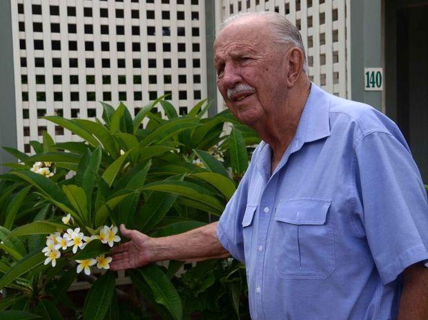 Former Noosa Shire Council Mayor Bert Wansley