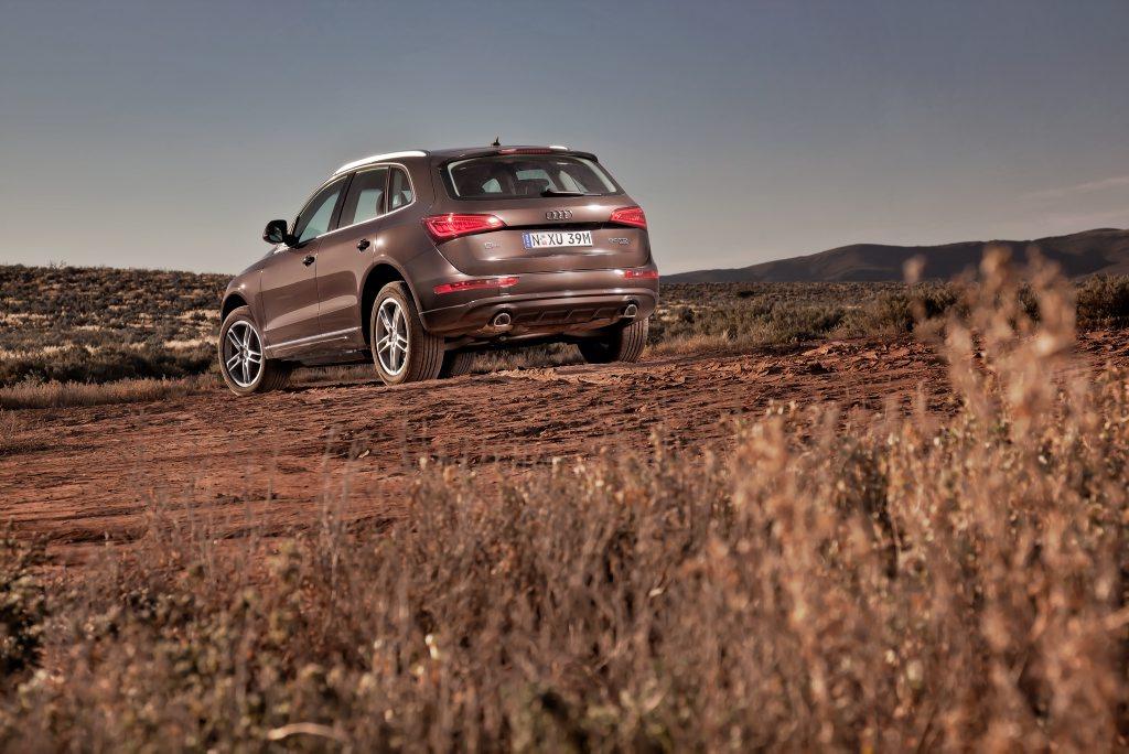 The new Audi Q5.