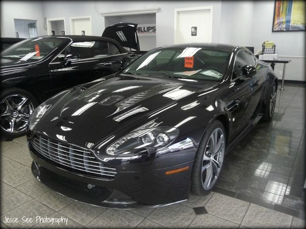 An Aston Martin Vantage will set you back about $310 000.