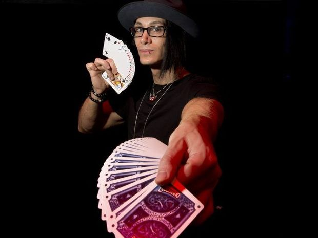 Cosentino the illusionist visited Toowoomba on his Distortions tour.