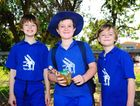 Aden Hill, 8, Connor Brown, 9, and Callum Hil, 7.