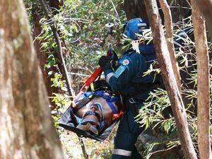 Mt Tibrogargan climber rescued