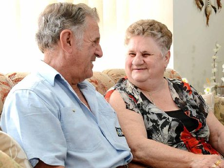 LIFE TOGETHER: Howard and Marlene Smallwood celebrate their 50th wedding anniversary today.