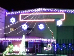 Christmas lights - Gangnam Paget Style