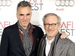 Daniel Day-Lewis with Steven Spielberg.