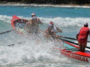Surf boat series heads to Woolgoolga this weekend