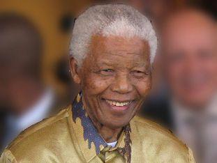 Nelson Mandela in 2008